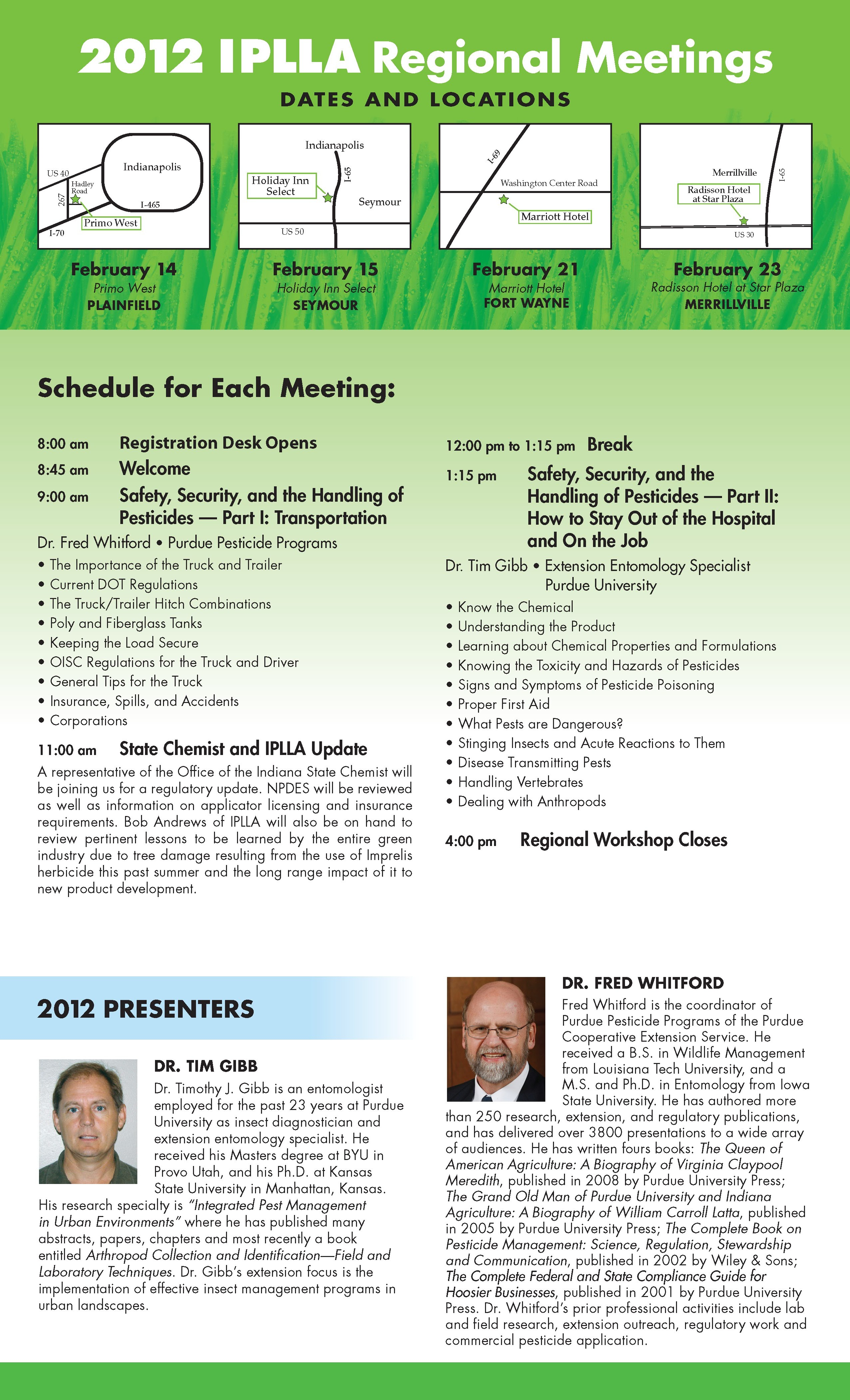 Full Event Brochure-2012 Regional Workshop